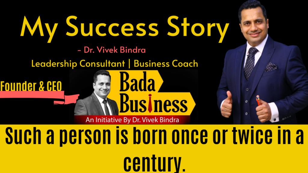 Dr. Vivek Bindra training program
