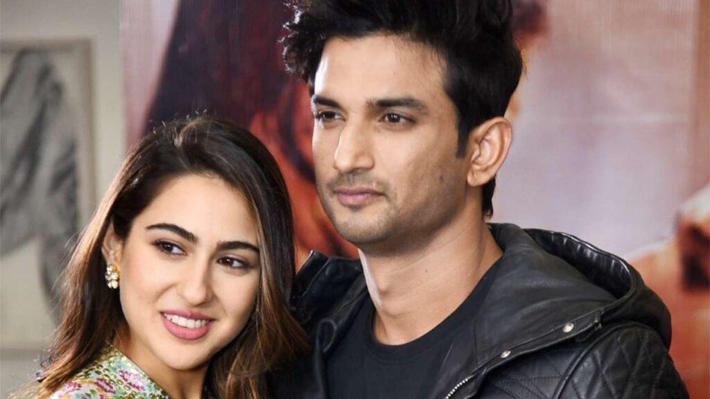 Sara with Boyfriend Sushant Singh Rajput