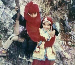 Naina Singh childhood image