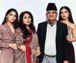 Bhumi Pednekar Family