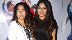Bhumi Pednekar with Mother