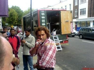 smoking Bobby Deol