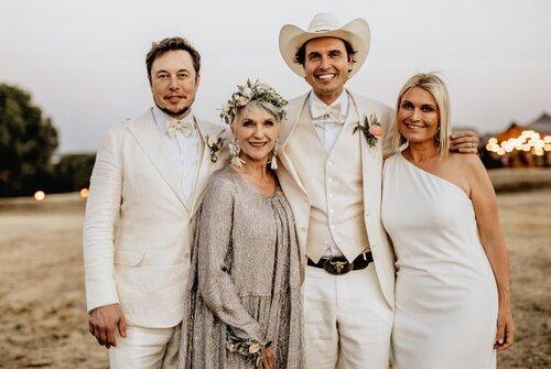 Elon Musk family