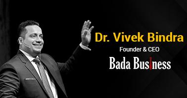 Dr. Vivek Bindra bada business