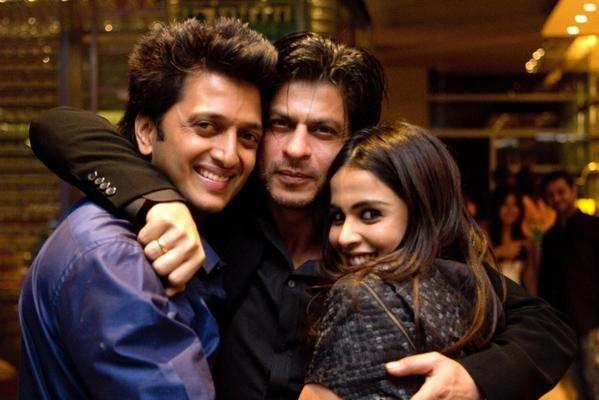 Reteish With Shah Rukh Khan