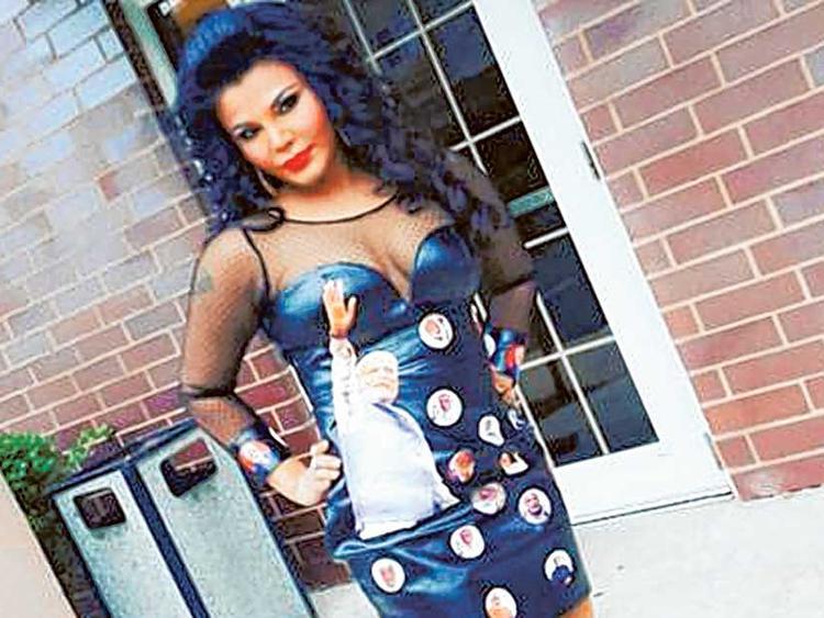 Rakhi Sawant narendra modi dress