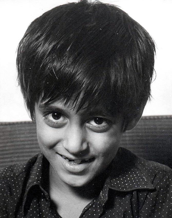 Childhood pic of Salman