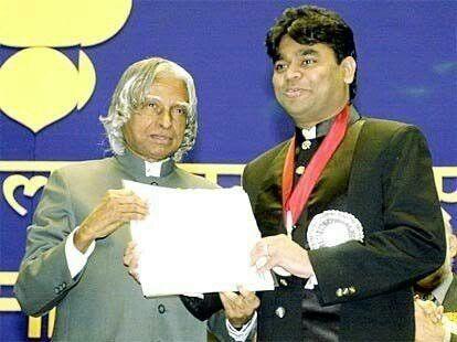 APJ Abdul Kalam with Rahman
