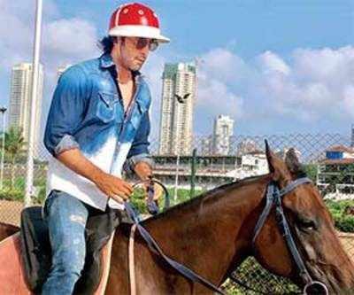 ranbir kapoor horse
