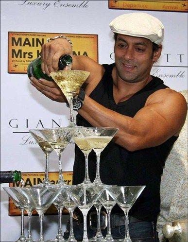 salman khan alcohol