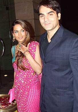 Marriage pic of Malaika Arora