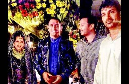 John Abraham in Dhoni wedding