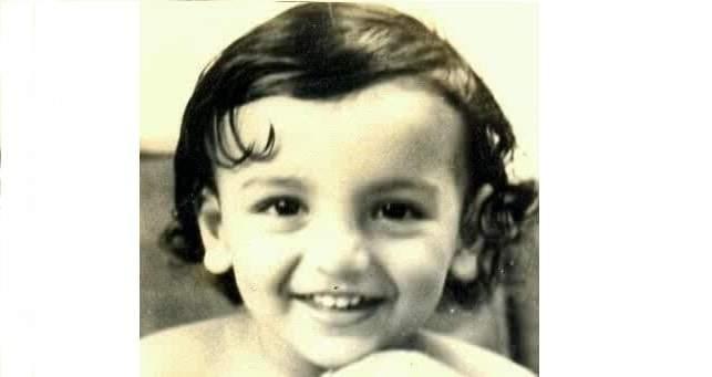 Childhood pic John Abraham