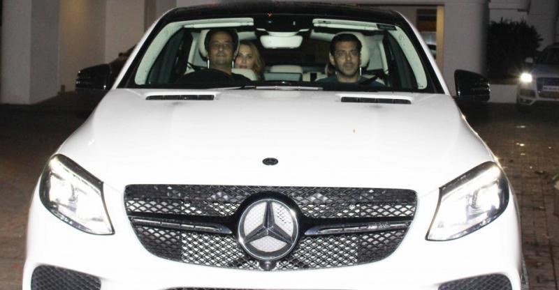 Mercedes Benz GL- Class,  salman khan