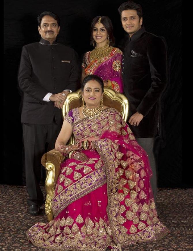 Reteish  deshmukh family