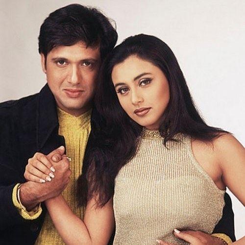 Govinda with his Girlfriend Rani Mukherji