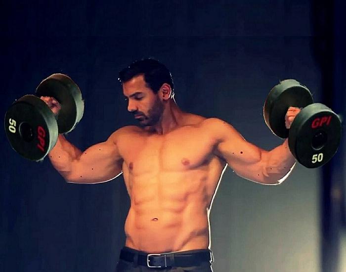 John Abraham fitness gym