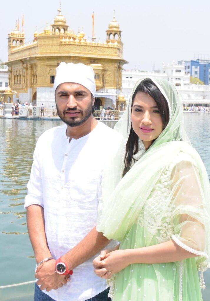 Gauahar Khan with Jassi Gill