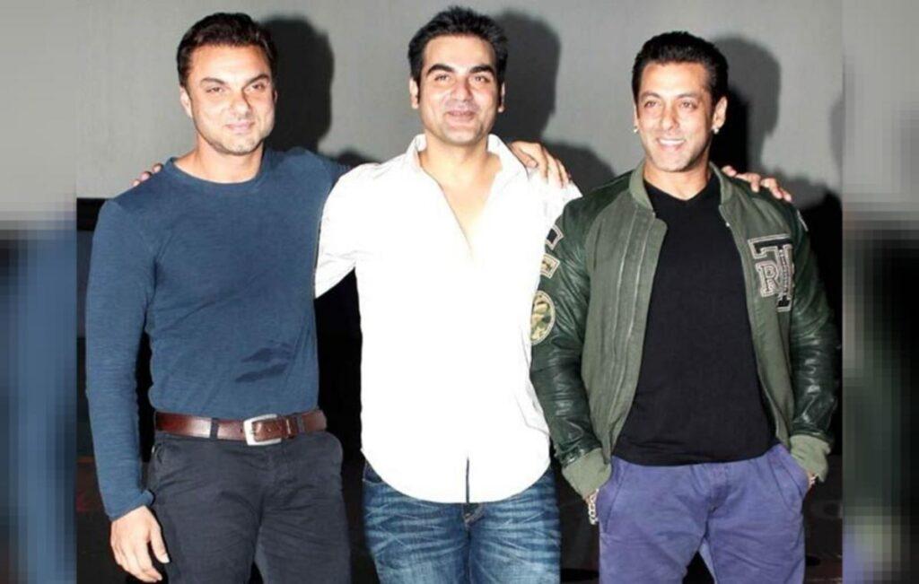Salman Khan brothers Sohail and Arbaaz