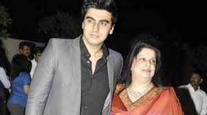 arjun kapoor mother