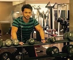 Rahul Vaidya in Gym
