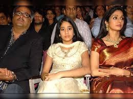 Sridevi with husband Boney Kapoor