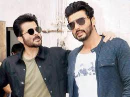 Arjun Kapoor with uncle Anil Kapoor