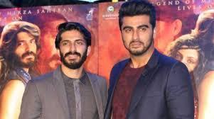 Arjun Kapoor with cousin Harashvardhan