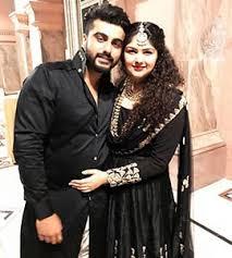 Arjun Kapoor with real sister Anshula