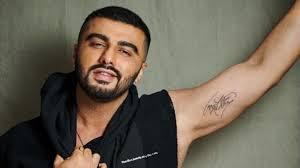 arjun kapoor tattoo images
