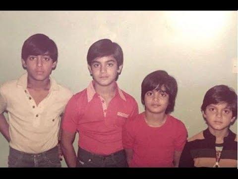 salman childhood photos