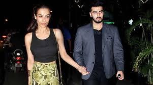 Arjun Kapoor with girlfriend Malaika Arora