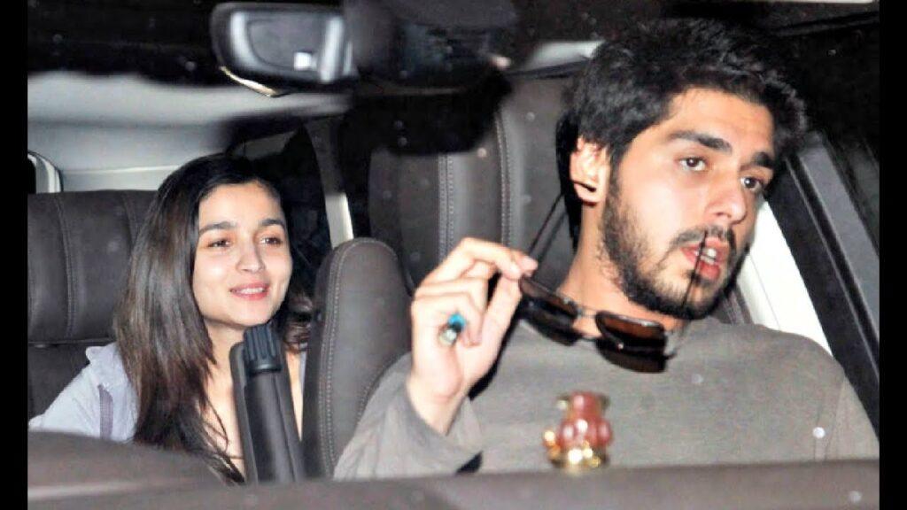 Ali Dadarkar with Alia Bhatt