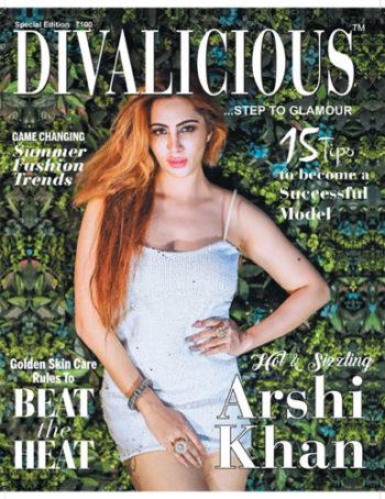 Arshi Khan magazine