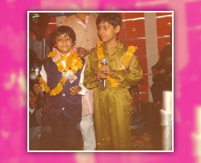 Neha and Tony(brother) childhood pic