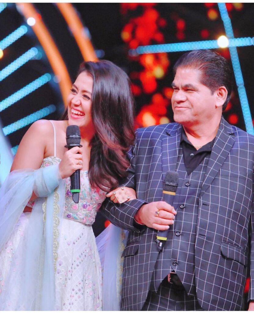Neha with Father Rishikesh Kakkar