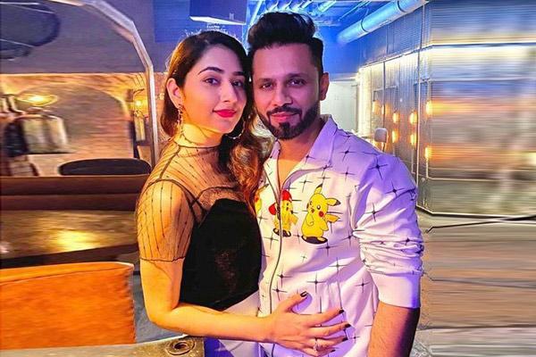 Rahul Vaidya girlfriend Disha Parmar