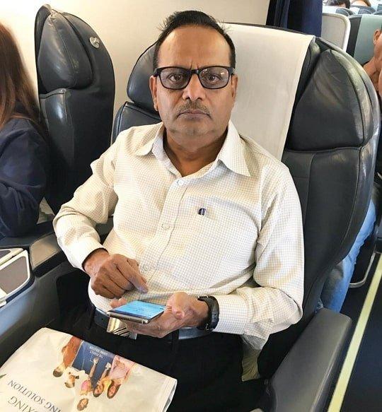 Rahul Vaidya Father Krushna Vaidya