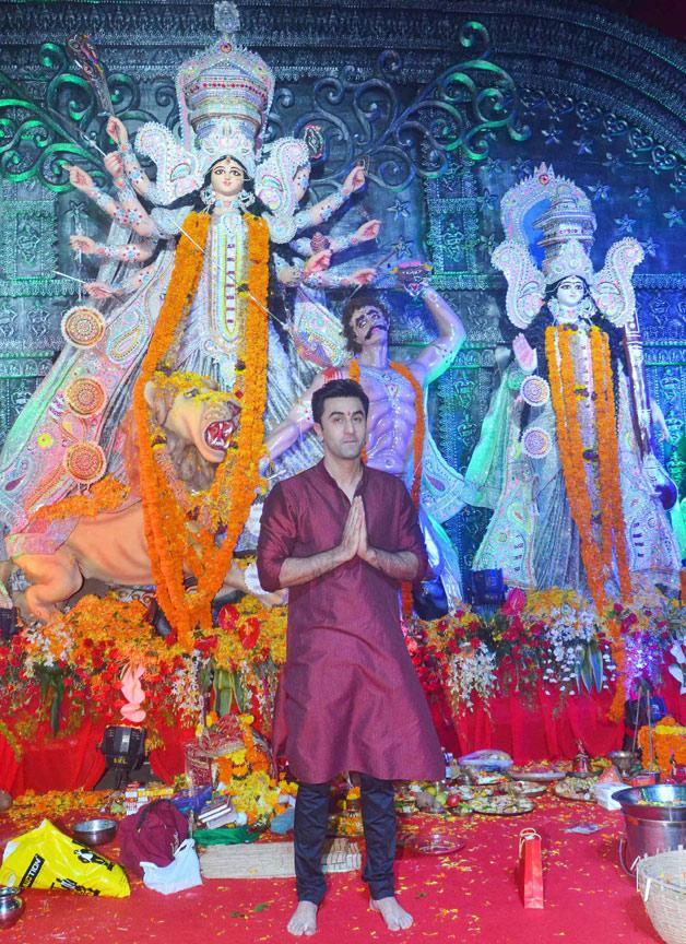 Ranbir kapoor worship