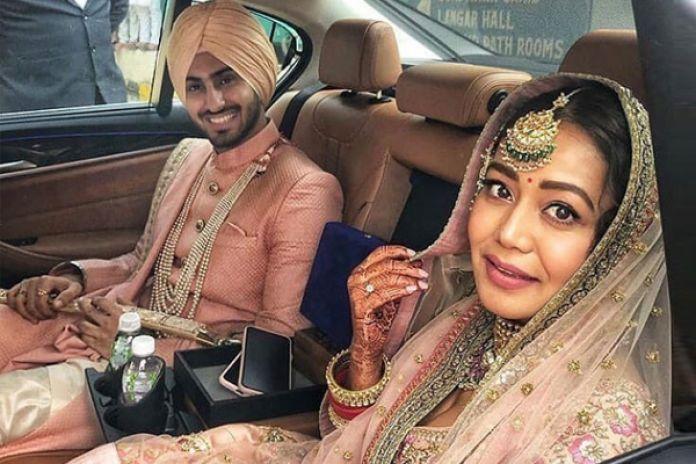 Neha with her Husband Rohanpreet Singh