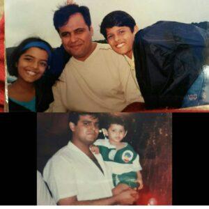 Neil Bhatt childhood pic