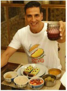 Akshay Kumar diet