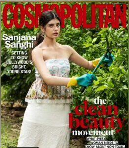 Sanjana Sanghi magazine