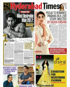 Most Desirable Man Hyderabad Times 2017