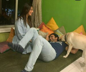 Divyanka Tripathi pet dog