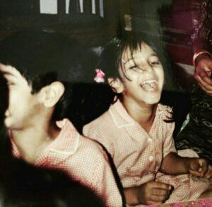 Shruti Haasan childhood pic
