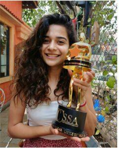 Mithila Palkar Awards