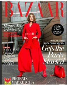 Rhea Chakraborty magazine