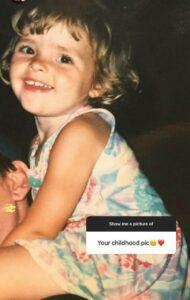 Olivia Morris childhood pic