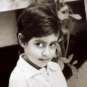 Abhishek Bachchan childhood pics